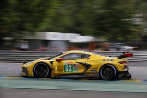#63 Corvette Racing Chevrolet Corvette C8.R LMGTE Pro of Antonio Garcia, Jordan Taylor, Nicky Catsburg
