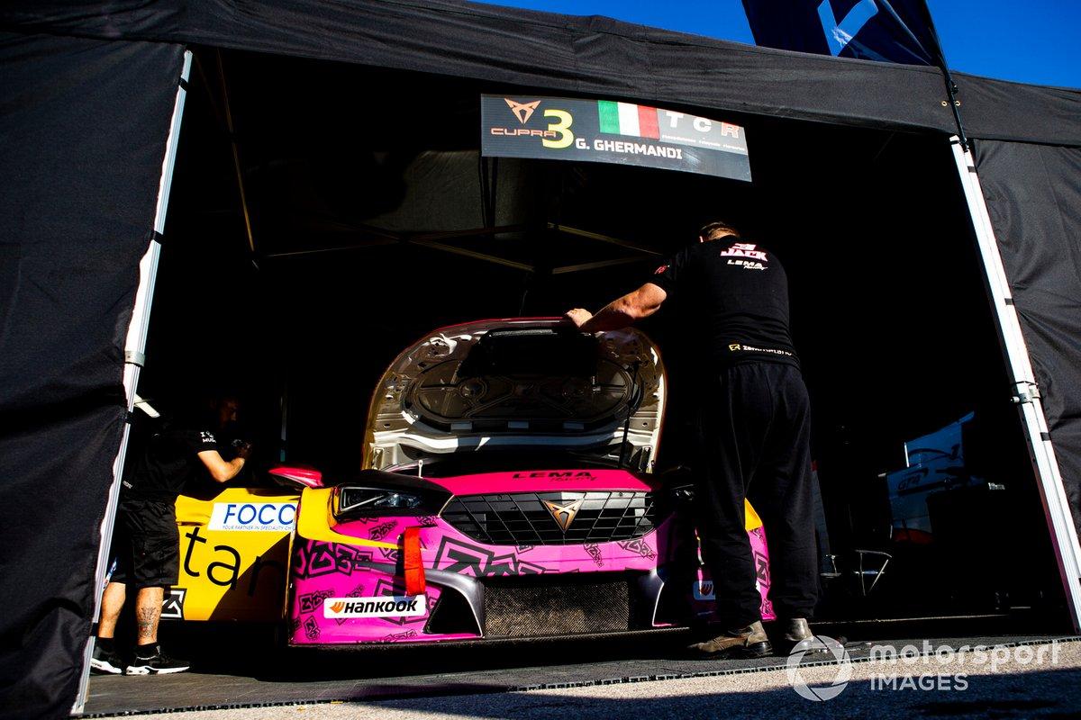 Giacomo Ghermandi, Lema Racing, Cupra Leon Competicion TCR