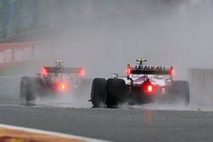 Valtteri Bottas, Mercedes W12, Mick Schumacher, Haas VF-21