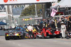 #31: Whelen Engineering Racing Cadillac DPi, DPi: Felipe Nasr, Pipo Derani, #4: Corvette Racing Corvette C8.R, GTLM: Tommy Milner, Nick Tandy