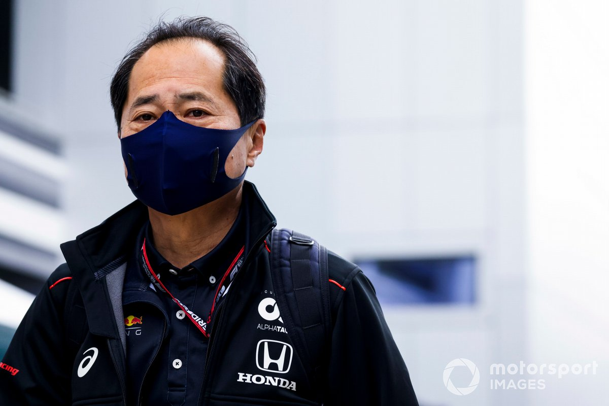 Toyoharu Tanabe, director técnico de Honda