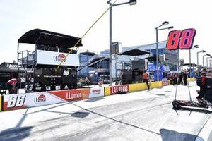 #88: Alex Bowman, Hendrick Motorsports, Chevrolet Camaro LLUMAR