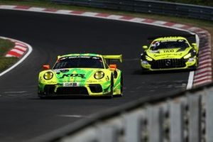 #911 Manthey-Racing Porsche 911 GT3 R: Matt Campbell, Mathieu Jaminet, Lars Kern