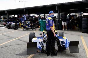 Alexander Rossi, Andretti Autosport Honda, crash