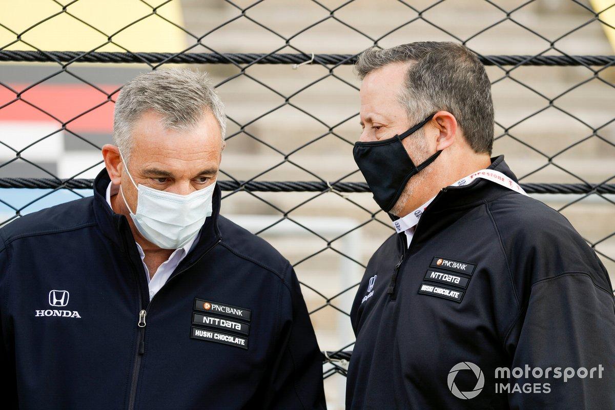 Doug Duchart, John Olguin, Chip Ganassi Racing Honda
