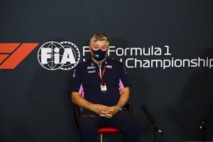 Otmar Szafnauer, Team Principal and CEO, Racing Point, in a Press Conference