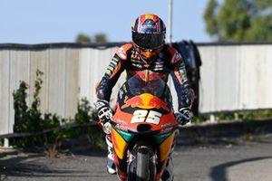 Raul Fernandez, Red Bull KTM Ajo crash