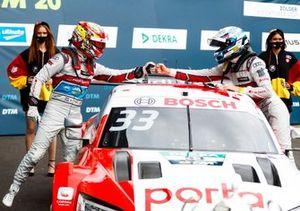 Robin Frijns, Audi Sport Team Abt Sportsline, René Rast, Audi Sport Team Rosberg