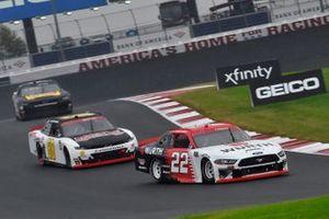 Austin Cindric, Team Penske, Ford Mustang, Brandon Brown, Brandonbilt Motorsports, Chevrolet Camaro Ray's Siding
