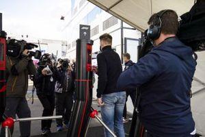 Nico Hulkenberg, Racing Point llega al paddock