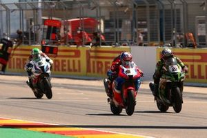 Alex Lowes, Kawasaki Racing Team Leon Haslam, Team HRC, Eugene Laverty, BMW Motorrad WorldSBK Team