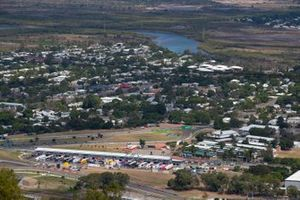Townsville Circuit aerial view