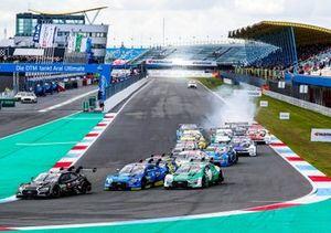 Ferdinand Habsburg, Audi Sport Team WRT, Audi RS 5 DTM, Robin Frijns, Audi Sport Team Abt Sportsline, Audi RS5 DTM, Nico Müller, Audi Sport Team Abt Sportsline, Audi RS 5 DTM
