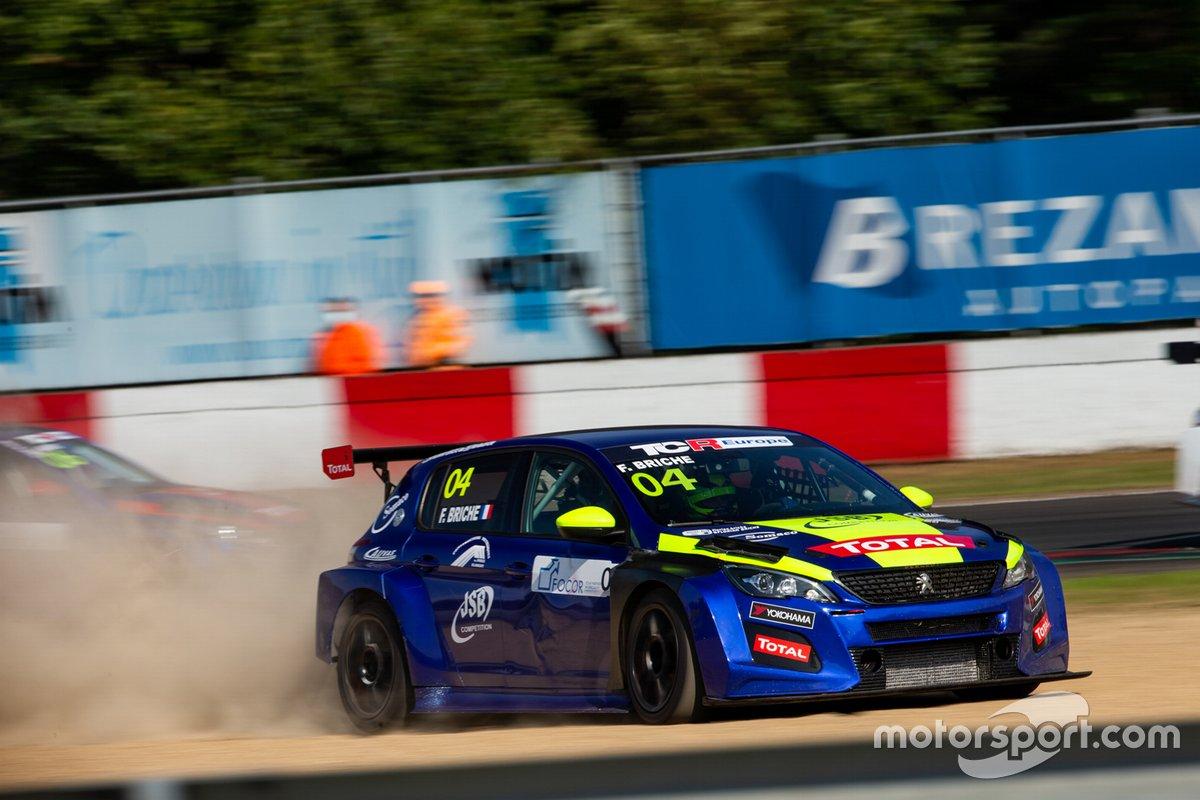 Florian Briché, JSB Compétition, Peugeot 308 TCR