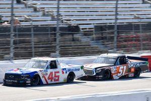 Ty Majeski, Niece Motorsports, Chevrolet Silverado Plan B Sales, Chandler Smith, Kyle Busch Motorsports, Toyota Tundra JBL/Smith General Contracting