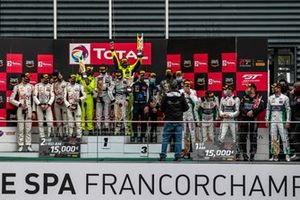 Pro-Am-Podium: 1. Rob Collard, Leo Machitski, Sandy Mitchell, 2. Chris Froggatt, Jonathan Hui, Eddie Cheever, Giancarlo Fisichella, 3. Chris Goodwin, Alex West, Jonathan Adam, Maxime Martin