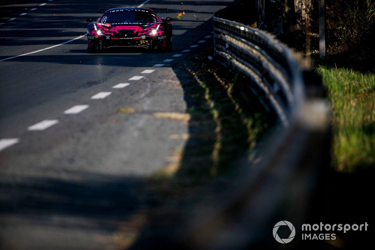 #85 Iron Lynx Ferrari 488 GTE Evo: Manuela Gostner, Rahel Frey, Michelle Gatting