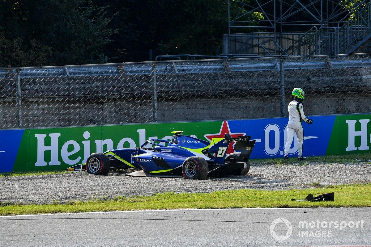 David Schumacher, Carlin, se retira