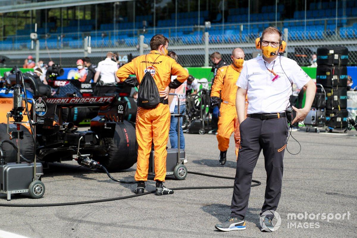 Андреас Зайдль, руководитель McLaren