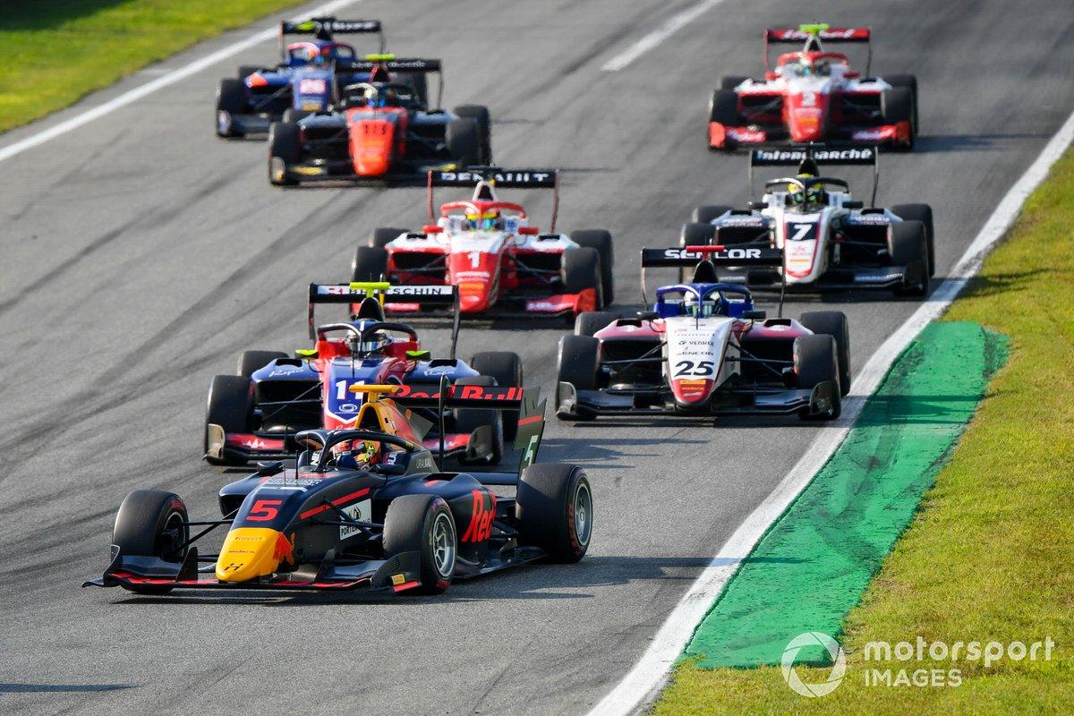 Liam Lawson, Hitech Grand Prix, David Beckmann, Trident y Michael Belov, Charouz Racing System