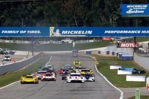 #85 JDC-Miller Motorsports Cadillac DPi, DPi: Matheus Leist, Stephen Simpson, crash