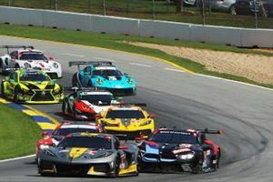 #4 Corvette Racing Corvette C8.R, GTLM: Oliver Gavin, Tommy Milner, #24 BMW Team RLL BMW M8 GTE, GTLM: John Edwards, Jesse Krohn