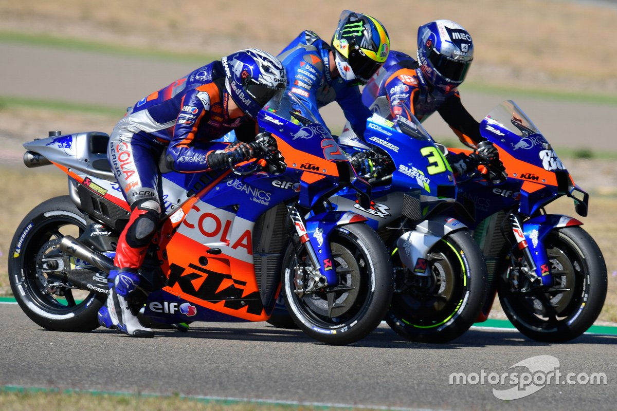 Iker Lecuona, Red Bull KTM Tech 3, Joan Mir, Team Suzuki MotoGP, Miguel Oliveira, Red Bull KTM Tech 3