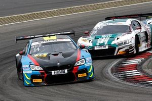 #14 MRS GT-Racing BMW M6 GT3: Erik Johansson, Jens Klingmann