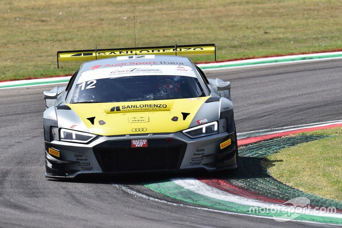 Riccardo Agostini, Daniel Mancinelli, Vito Postiglione, Audi Sport Italia, AUDI R8 LMS