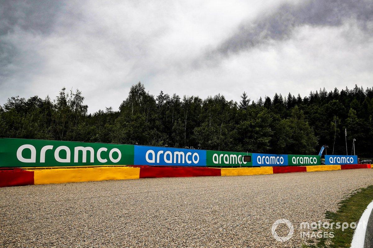 Detalle de la pista de Spa-Francorchamps
