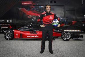 Dario Franchitti mit dem IndyCar-Doppelsitzer