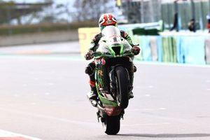 Third place Jonathan Rea, Kawasaki Racing Team