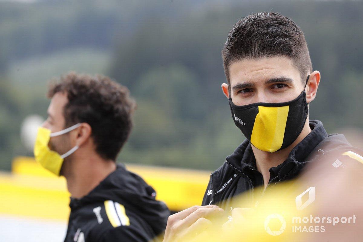 Эстебан Окон и Даниэль Риккардо, Renault F1