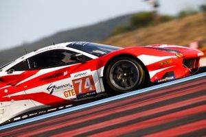 #74 Kessel Racing Ferrari F488 GTE EVO: Michael Broniszewski, David Perel, Marcos Gomes