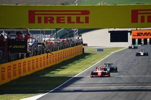 Winnaar Frederik Vesti, Prema Racing en Jake Hughes, HWA Racelab