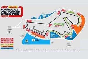 Turkish GP circuit map