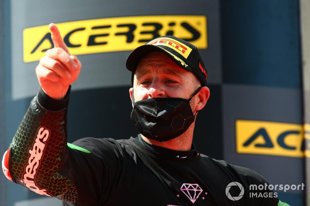 Podio: Ganador Jonathan Rea, Kawasaki Racing Team
