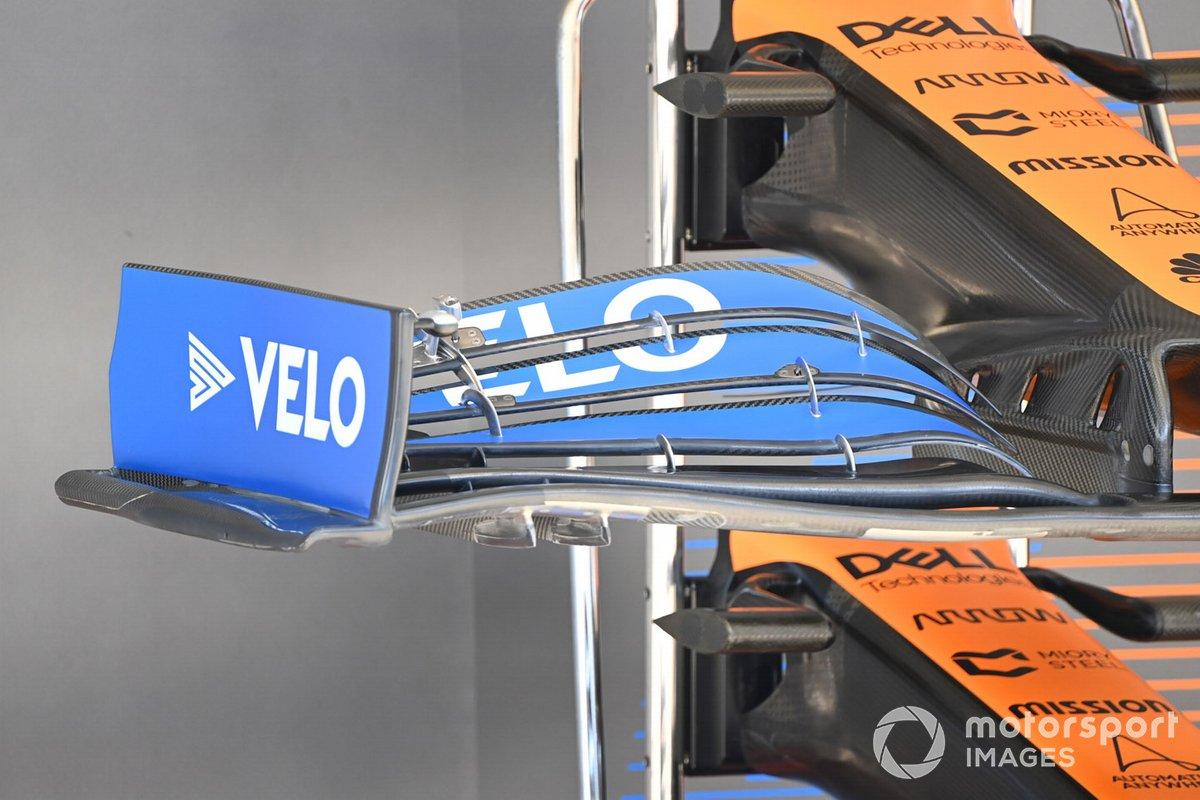 McLaren: asa dianteira