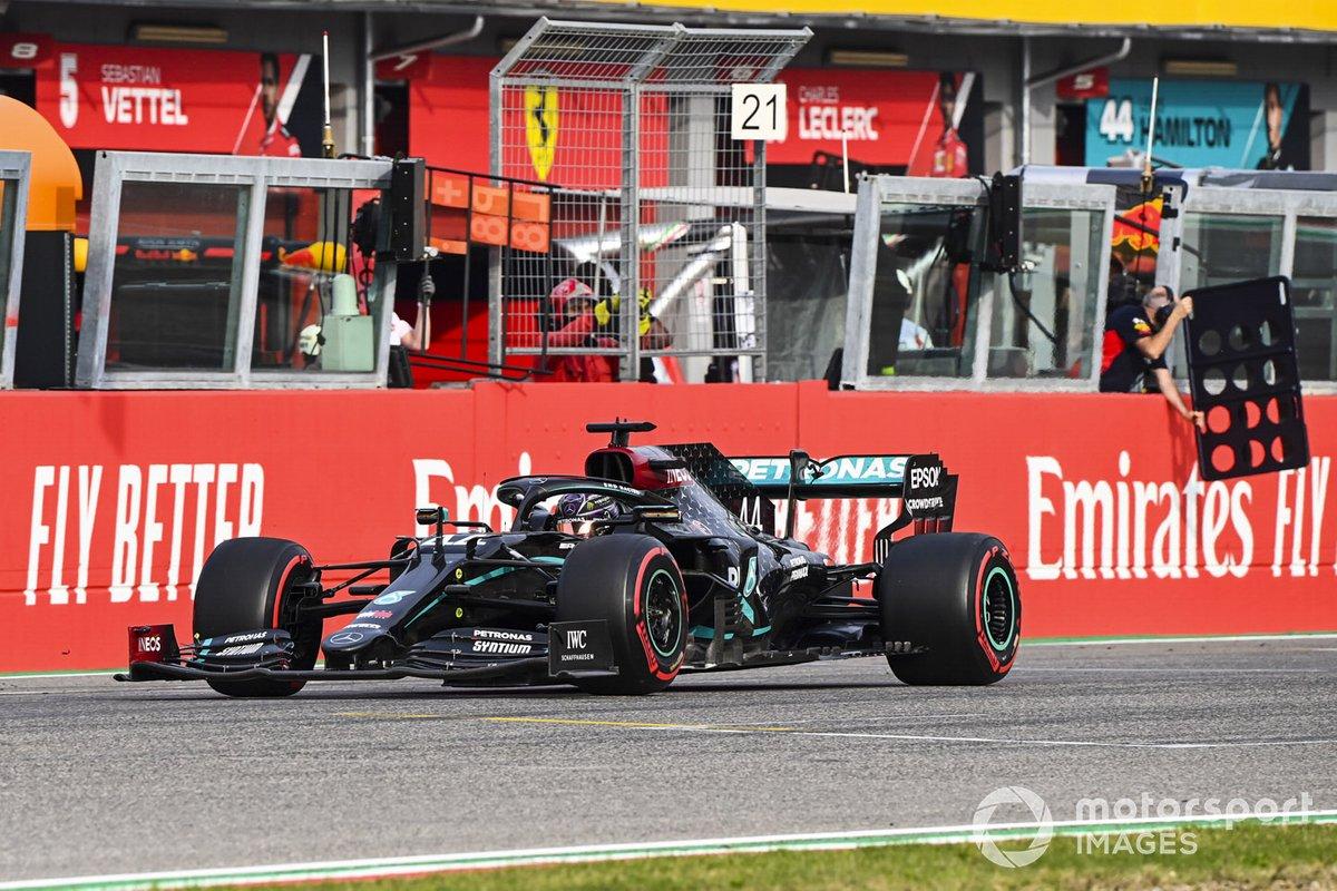 Émilie-Romagne - Vainqueur : Lewis Hamilton (Mercedes)