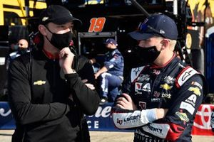 William Byron, Hendrick Motorsports, Chevrolet Camaro Liberty University, crew chief Chad Knaus