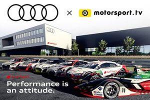 Audi Motorsport.tv banner