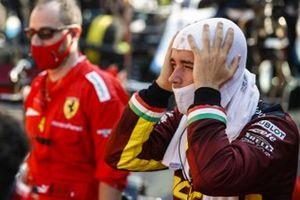 Шарль Леклер, Ferrari, на пит-лейне