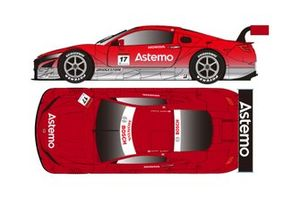 #17 Astemo NSX -GT / Astemo REAL RACING