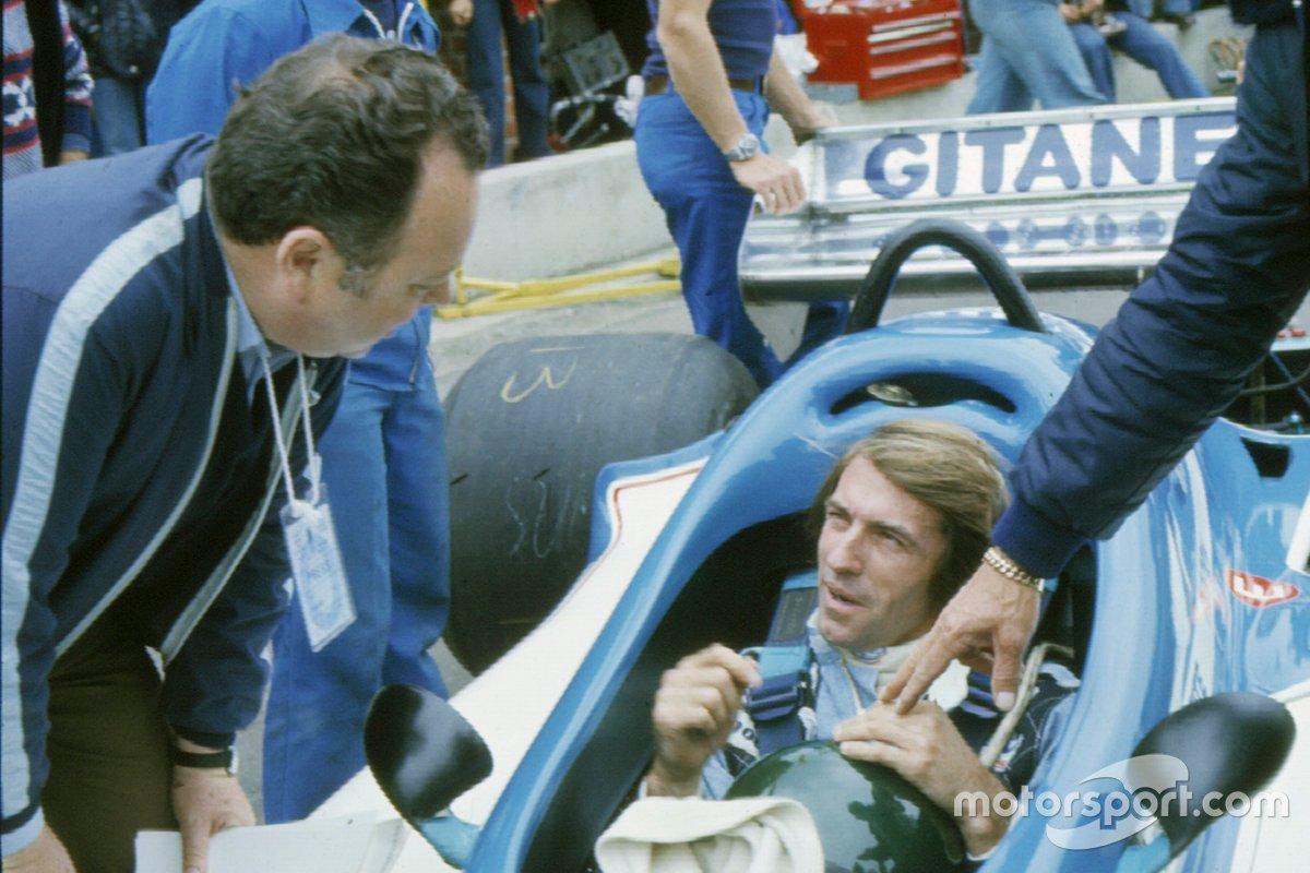Jean Graton con Jacques Laffite
