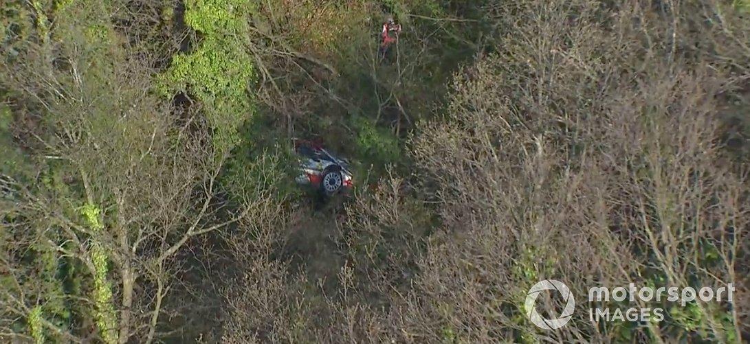 Accidente de Kalle Rovanpera, Toyota Gazoo Racing