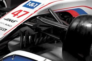 Haas VF-21 detail