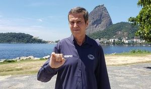 Foto Fausto Macieira - novo comentarista ESPN e Fox Sports