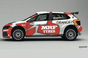Simone Campedelli, Team MRF Tyres, Volkswagen Polo GTI R5