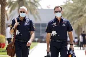 Adrian Newey, Chief Technical Officer, Red Bull Racing and Christian Horner, Team Principal, Red Bull Racing