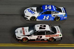 Brad Keselowski, Team Penske, Ford Mustang Discount Tire\ Chase Briscoe, Stewart-Haas Racing, Ford Mustang HighPoint.com